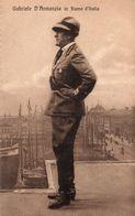 GABRIELE D' ANNUNZIO IN FIUME D'ITALIA - NON VIAGGIATA - Personnages Historiques