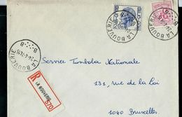 Doc. De LA BOUVERIE - B B - Du 24/04/74 En Rec. - Marcophilie