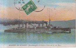 Marine De Guerre Dreadnoughts VOLTAIRE  Cuirasse De 1º Ran  1913 - Andere
