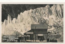 74 // EISGROTTE RHONEGLETSCHER / Entrée De La Grotte De Glace Et Les Seracs - France