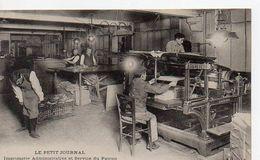 LE PETIT JOURNAL - Imprimerie Administrative Et Service Du Patron De La Mode - Francia