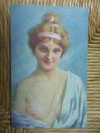 CPA Inédite Timbre Stamp 1919 écrite - MIECZYSLAW REYZNER Un Rayon De Soleil - Paintings