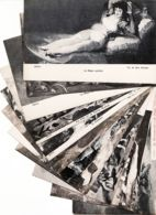 Esp200 Lot 11 Tarjetas Postales MADRID MUSEO GOYA ( Toutes Scannées) 1920s España Spain Espagne - Madrid