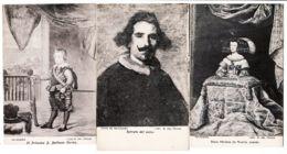 Esp286 Lot 3 Tarjetas Postales MADRID Museo PRADO VELAZQUEZ Baltasar Carlos Retrato 1920s España Spain Espagne - Madrid