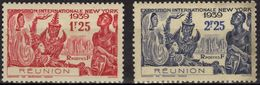 REUNION 156 157 * / ** Exposition Internationale De New York 1939 (CV 3,68 €) - Ongebruikt