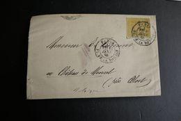 Aalst Moorsel Kasteel Emile Cumont Brief 1885 Parijs Moorsel - Stamped Stationery