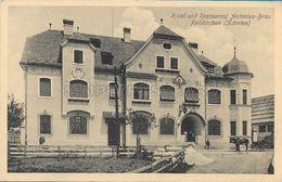 OLD POSTCARD - AUSTRIA - CARINZIA - FELDKIRCHEN - HOTEL UND RISTORANT - ANTONIUS - BRAU - VIAGGIATA PRIMI '900 -  U58 - Feldkirchen In Kärnten