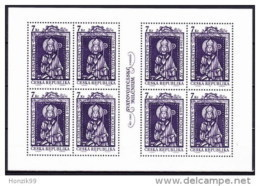 1997 1000 Ans De Saint Adalbert Petite Feuille De 8 Timbres  YT 136 - Blocks & Sheetlets
