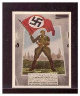 Dt- Reich (009766) Sammelbild Propaganda, Der Staat Der Arbeit Und Des Friedens, Bild 241 Gedenktafel Für Dietrich Eckar - Cigarette Cards