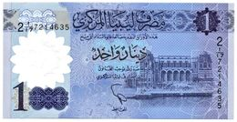 Libia 1 Dinar Polymer - Libyen