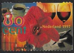 NVPH 1720c - 1997 - Amarillus Met Kopje Koffie, Glazen Wijn, Dineren - Afkomstig Uit Mailer - 1980-... (Beatrix)