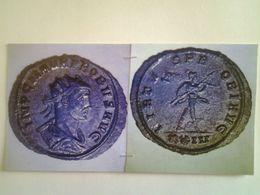 Antoninien Probus Tête A Droite Rv/ Virtus Probi Aug Mars Nu A Droite Ticinum - 5. La Crisis Militar (235 / 284)