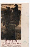 ROMA 1911 - ESPOSIZIONE INTERNAZIONALE (italiano) - NON VIAGGIATA - Publicité