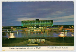 TORONTO      INTERNATIONAL  AIRPORT  AT  NIGHT          (NUOVA) - Toronto