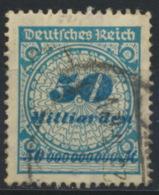 Deutsches Reich 330A O Gepr. Infla - Allemagne