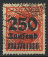 Deutsches Reich 296 O Altsignatur Lewald - Allemagne