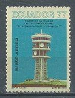 Equateur Poste Aérienne YT N°643A Journée Mondiale Des Télécommunications Neuf ** - Cile