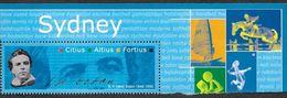 Vignette Des YT 340-41 Citius Altius Fortius - Sydney - Commemorative Labels