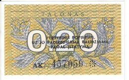 LITUANIE - 0.2 Talonas 1991 - UNC - Litauen