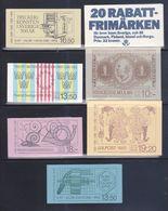 Svezia > Libretti > 1983  7  Libretti Completi Tutti Nuovi MNH ** - 1981-..
