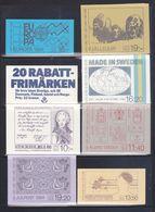 Svezia > Libretti > 1984  8  Libretti Completi Tutti Nuovi MNH ** - 1981-..