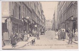 75 PARIS  Rue Lécluse , Boulevard Des  Batignolles Ouvrier Avec échelle ,N°118 - Arrondissement: 17