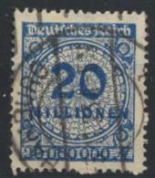 Deutsches Reich 319A O - Allemagne