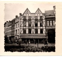 OSTENDE 1946 PICCADILLY HOTEL GARAGE CITROEN - Luoghi