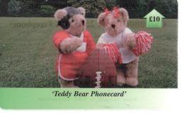 ROYAUME UNI - Teddy Bear Phonecard - £10 - Ver. Königreich