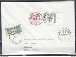 Brief Van Brussel-Haaselt E-E Naar Aalst - Postmark Collection