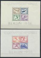 Deutsches Reich Block 5/6 ** Postfrisch - Germany
