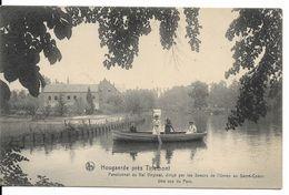 Hougaerde (3320) - Enseignement Catholique : Pensionnat Du Val Virginal, Des Sœurs Du Sacré-Cœur - Une Vue Du Parc. CPA. - Hoegaarden