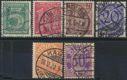 Deutsches Reich Dienst 16/21 O - Officials