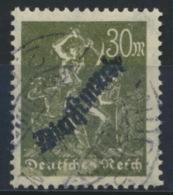 Deutsches Reich Dienst 76 O - Officials