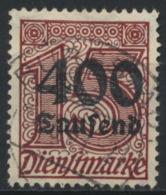 Deutsches Reich Dienst 94 O - Officials