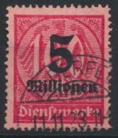 Deutsches Reich Dienst 98 O - Officials