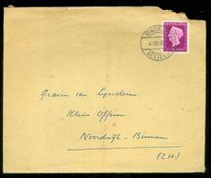BRIEFOMSLAG Uit 1948 Van GRAAF Van LYNDEN St. MICHIELSGESTEL Naar GRAVIN Van LYNDEN Te NOORDWIJK-BINNE3N (11.812c) - 1891-1948 (Wilhelmine)