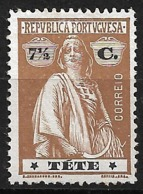 Tete – 1914 Ceres Type 7 1/2 Centavos - Tete