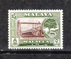 Malacca  - 1960. Tessitrice Malese. Malaysian Weaver. High Values Of The Series. Fresh MNH - Altri