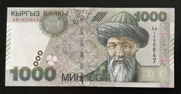 KYRGYZSTAN 1000 SOM BANKNOTE 2000 P-18 UNC - Kirghizistan