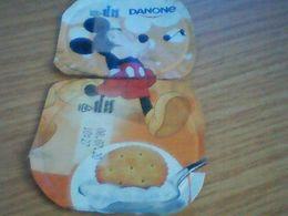 Opercule Yaort Micket Mouse - Milk Tops (Milk Lids)