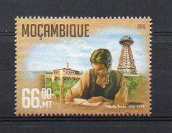 MOZAMBIQUE. 2016. NIKOLA TESLA. MNH (6R1283) - Famous People