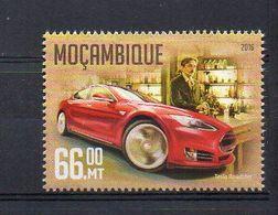 MOZAMBIQUE. 2016. NIKOLA TESLA. MNH (6R1284) - Famous People