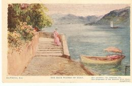 """J. MacWhirter. The Blu Waers Of Italy"" Tuck Nature Smiles Ser. PC # 2978 - Tuck, Raphael"