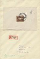 Deutsches Reich Block 4 Auf R-Brief 1xgefaltet - Briefe U. Dokumente