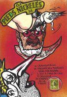 CPM Timbre Monnaie Les Pieds Nickelés Série Tirage Limité Numéroté Signé En 30 Ex. Satirique Tarn Albi - Monnaies (représentations)