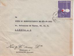 MATOSINHOS , 1972 , Commercial Cover , NERO & Cª Lda , International Heart Month  Stamp - 1910-... République