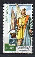 S. TOME E PRINCIPE. 2015. JOAO DE SANTAREM. MNH (6R1359) - Explorers
