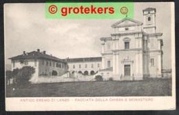 LANZO Antico Eremo, Facciata Della Chiesa E Monastereo - Other Cities