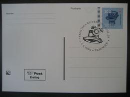 Österreich 2020-  Ganzsache FDC Postkarte Europa, Gurktaler Bänderhut - 1945-.... 2nd Republic